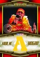 2010 TNA Icons Hulk Hogan Bandana Letter A