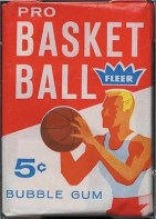 1961/62 Fleer Basketball Unopened Pack