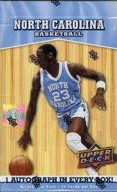 2010-11 Upper Deck North Carolina Hobby Box