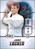2011 Sage Jake Locker Rookie RC