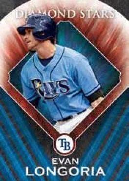 2011 Topps Series 2 Evan Longoria Diamond Stars