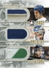 10/11 ITG Ultimate Past Present Future Sittler/Giguere/Kadri