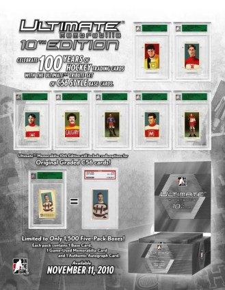 2010 ITG UM10 Hockey Sell Sheet