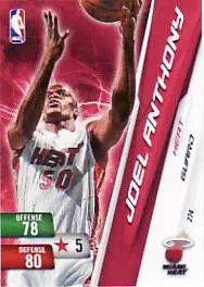 2010-11 Adrenalyn NBA Series 2 Joel Anthony Code