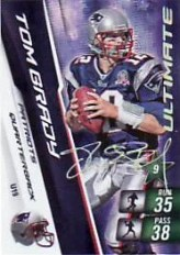 2010 Adrenalyn Tom Brady Ultimate Signature