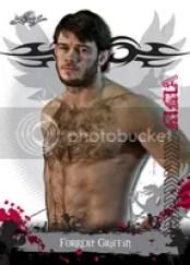 2010 Leaf MMA Forrest Griffin Base Card