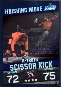 2009 Slam Attax WWE Finishing Move R-Truth