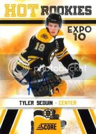 2010/11 Score Tyler Seguin Toronto Expo Rookie RC Auto