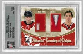 10/11 ITG Ultimate Country of Origin Mario Lemieux/Joe Sakic