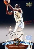 2010 World of Sports Michael Jordan Autograph
