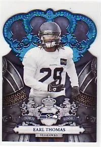 2010 Crown Royale Earl Thomas Blue RC #/100