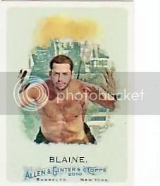 2010 Topps Allen & Ginter David Blaine