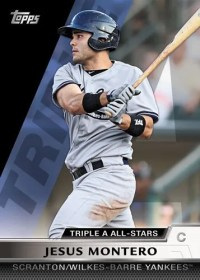 2011 Topps Pro Debut Triple A All Star Jesus Montero Insert Card