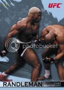 2010 Topps UFC Knockout Kevin Randleman Octagon Mat Parallel