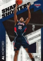 2010/11 Panini Rookies and Stars Sharp Shooters Al Horford Jersey Insert Card