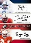 2010 Upper Deck SPX Super Script Trios Craig Rice Young