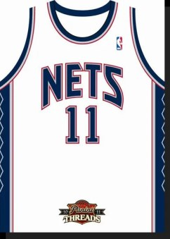 2010/11 Panini Threads New Jersey Nets Home Jersey