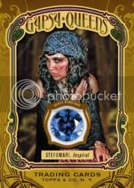 2011 Topps Gypsy Queen Stefumari