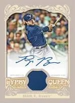 2012 Topps Gypsy Queen Frank Ryan Braun Autograph Jersey