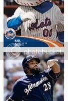 2012 Topps MLB Baseball Sticker Prince Fielder