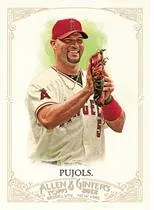 2012 Topps Allen & Ginter Albert Pujols Angels Card