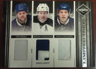 2011-12 Panini Limited Trios Card