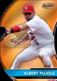 2011 Bowman Albert Pulost Bowmans Best
