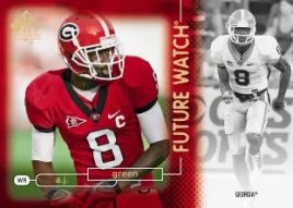 2011 Sp Authentic Football A.J. Green Future Watch