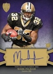 2011 Topps Supreme Football Mark Ingram Autograph