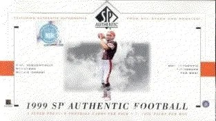 1999 Upper Deck SP Authentic Football Hobby Box