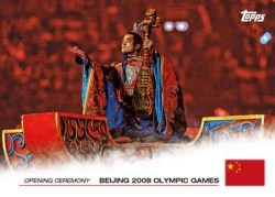 2012 Topps USA Olympics Opening Ceremony China