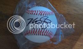 Max Stassi Autographed Baseball