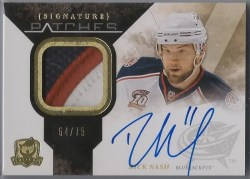 2010-11 The Cup Rick Nash Signature Patch /75