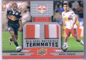2011 UD Soccer Thierry Henry Rafael Marquez