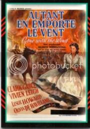 2011 Panini Americana Movie Poster Autant En Emporte Le Vent