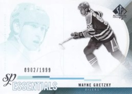 2010-11 UD Sp Authentic Wayne Gretzky Essentials