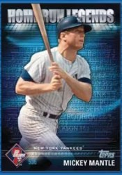 2012 Topps Prime 9 Mickey Mantle Home Run Legends