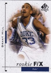 11-12 Grant Hill Sp Authentic Flashback Fx rookie