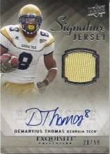2010 Exquisite Demaryius Thomas Jersey Autograph
