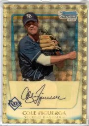 2011 Bowman Chrome Superfractor 1/1 Cole Figueroa