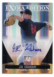 2011 Donruss Elite EEE J.R. Graham Autograph