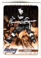 11-12 Upper Deck Series 1 Ted Lindsay Heroes