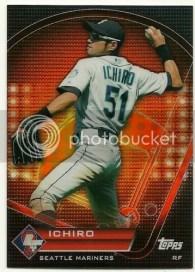 2011 Topps Prime 9 Ichiro