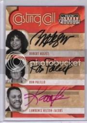 2011 Panini Americana Triple Auto Casting Call Kotter