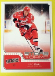 2011-12 UD Victory Eric Staal Stars of the Game
