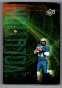 2011 Upper Deck Tony Romo Evolution 1/1 Video Trading Card
