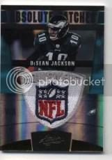 2011 Panini Absolute DeSean Jackson NFL Shield
