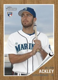 2011 Topps Heritage Dustin Ackley Rookie National /299
