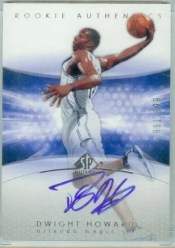 2004-05 Sp Authentic Dwight Howard Rookie Autograph