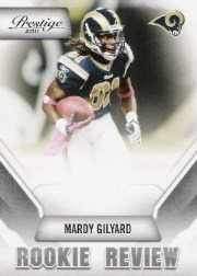 2011 Mardy Gilyard Prestige Rookie Review